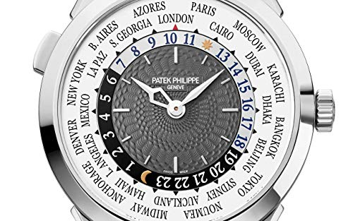 Patek Philippe Complications White Gold 5230G-014 with Charcoal Gray Lacquered dial