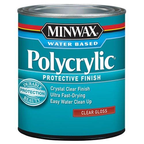 MINWAX Water-Based Polycrylic Protective Finish