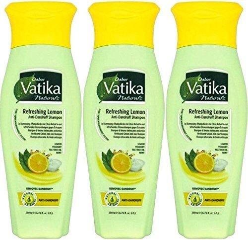 Dabur Vatika Zitronen Haarschampoo - 200ml x 3-3 -er Pack