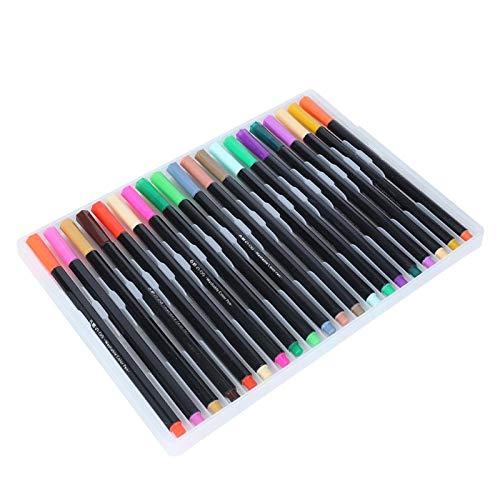 Bolígrafo de artista 60/80/100 colores Juego de bolígrafos de pintura de acuarela Más opciones Bolígrafo de pintor para dibujar para arte(80 colors)