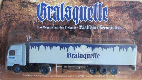 Gralsquelle Saalfeld Nr.01 - Saalfelder Feengrotten - MB Actros - Sattelzug