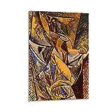 SJHAD Póster abstracto de Danza de los Velos, Pablo Picasso en lienzo para colgar cuadros modernos para habitación de 50 x 75 cm