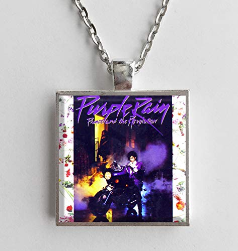 Album Cover Art Necklace Prince Purple Rain