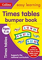 Times Tables Bumper Book: Ages 7-11 (Collins Easy Learning Ks2)