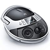 CD Player Portable Boombox with USB, Portable CD Player AM FM Radio, CD Player...