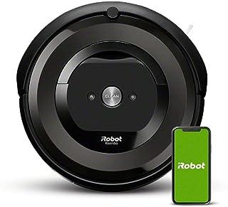ルンバ e5 ロボット掃除機 アイロボット 水洗い ダストボックス パワフルな吸引力 WiFi対応 遠隔操作 自動充電 e515060 ブラック Alexa対応