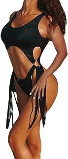 Women Skinny Bikini, NDGDA Sexy 1 Piece Swimsuit Leopard Print Bathing Swimwear Jumpsuit