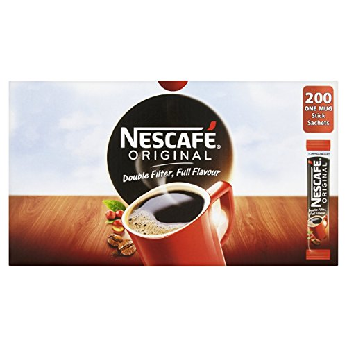 Nescafe Original Kaffee-Sachet, 1 Tasse, 200Stück 5219618