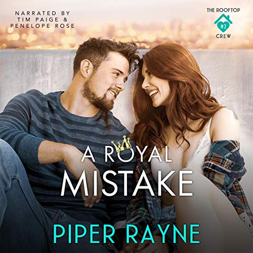 A Royal Mistake Audiobook By Piper Rayne cover art