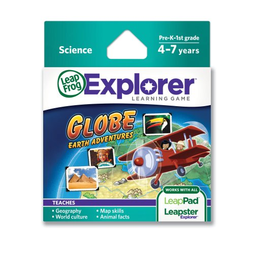 LeapFrog Globe: Earth Adventures Learning Game (works with LeapPad Tablets & LeapsterGS)