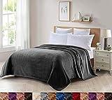 Foren tex manta para sofá y cama de franela (m-3100) 300gms sin pelusas no suelta pelo tacto suave y cálida varios tamaños y colores (150x200cm)