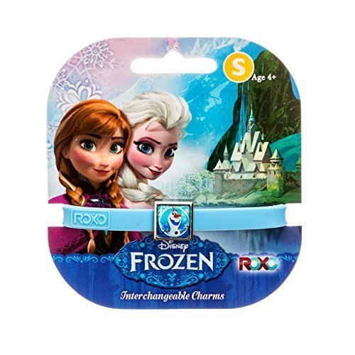Disney Frozen: 1 Charm Roxo Band (Petit, Bleu, Olaf) [Jouet]