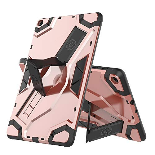 MDYHMC YXCY AYYD For Samsung-Galaxy Tab A 8.0 (2018) T387 Escort Series TPU + PC Shockproof Protective Case with Holder (Color : Rose Gold)