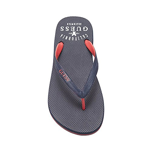 Guess F82Z01-BB002 MainApps - Chanclas para hombre Negro Size: Small
