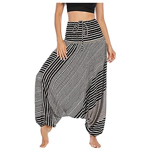 YWSZJ Pantalones Casuales de Estilo de Moda Simple, Pantalones de Yoga Impresos, Ropa Deportiva, Pantalones de Yoga