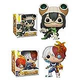 Funko Anime My Hero Academia Age of Heroes Tsuyu # 374Todoroki# 372 Figura De Acción De Vinilo Juguetes Coleccionables para Niños