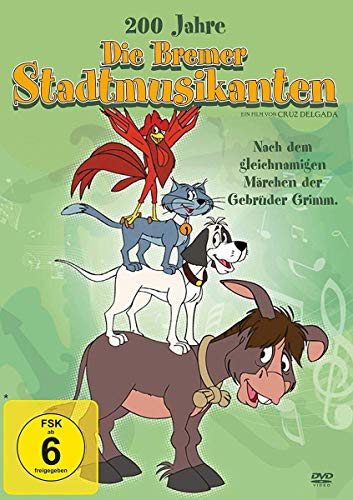 Die Bremer Stadtmusikanten (Die vier Furchtlosen) (Los 4 músicos de Bremen) (1989)