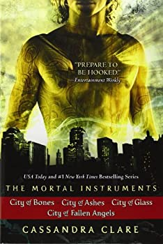 Paperback The Mortal Instruments : City of Bones; City of Ashes; City of Glass; City of Fallen Angels Book