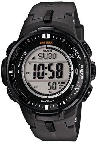 カシオ Casio Men's PRW-3000-1CR Protrek Triple Sensor Multi-Function Watch 男性 メンズ 腕時計 [並行輸入品]
