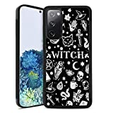Witch Pattern Phone Case Compatible Samsung Galaxy S20 FE (2020) (6.5in)
