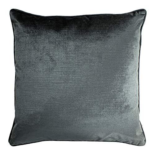 Paoletti Stella Cushion Cover, Graphite, 45 x 45cm
