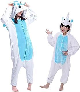 d7df0c949dc DEBAIJIA Pijama Animal para Niños Niñas Disfrace Cosplay Franela Traje del  Anime Invierno Calentito Pyjamas Navidad