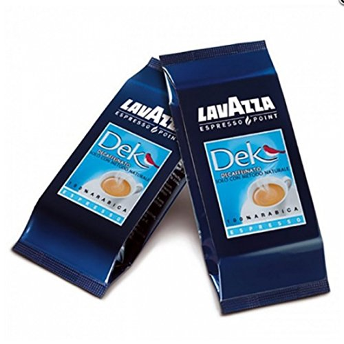 Lavazza cialde DECAFFEINATO Espresso Point Originali Capsule Espresso Point DEK DECAFFEINATO (100)
