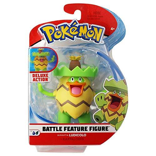 Pokémon 95131 Pokemon 4.5 Inch Battle Feature Figure- Assorted