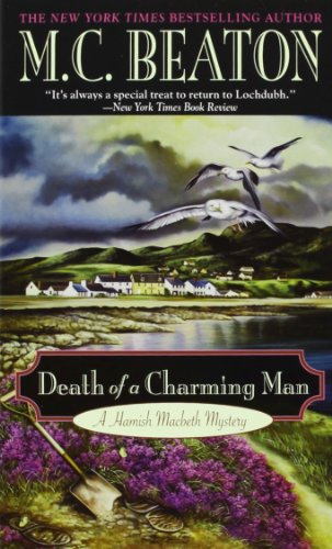 Death of a Charming Man (Hamish Macbeth Mysteri... 0446403385 Book Cover