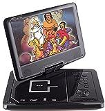 Takara DIV 109 R Lettore DVD portatile 9', porta USB, colore: Nero