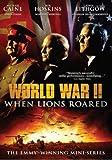 world war 2 documentary dvd - World War II: When Lions Roared - The Emmy-Winning Mini-Series