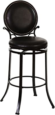 Amazon.com: Barstools ZR- Kitchen Breakfast, Bar Stool with PU ...