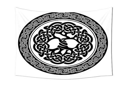 daawqee Celtic Wall Hanging Native Celtic Tree of Life Figure Ireland Early Renaissance Artsy...