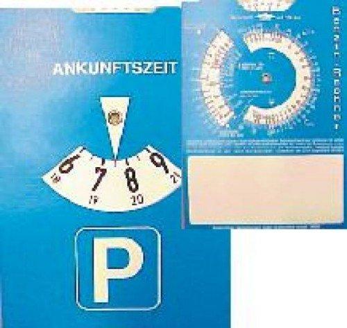 A001 Parkscheibe Parkuhr mit Benzinrechner-Funktion V1