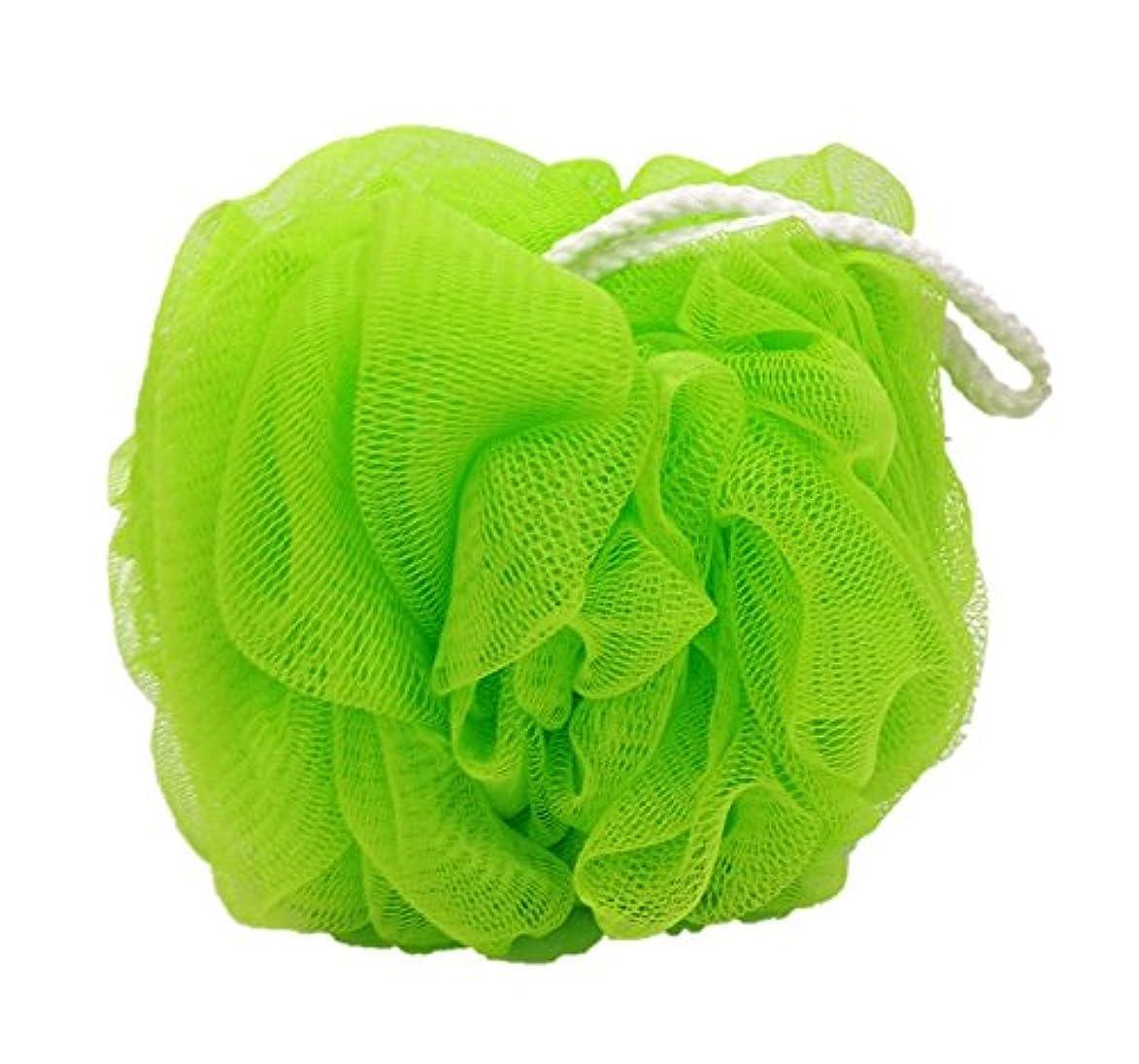 いっぱい受けるこれまでオーエ ホイッぷる ボール ふつう 泡立て ネット グリーン 約22×14×14cm もこもこ 洗える