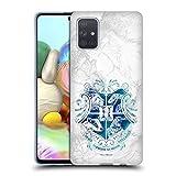 Head Case Designs Licenciado Oficialmente Harry Potter Hogwarts Aguamenti Deathly Hallows IX Carcasa de Gel de Silicona Compatible con Samsung Galaxy A71 (2019)