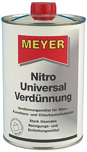 Nitrilica 1l bottigliqa di o, metanolo/O, toluene, 6 pcs