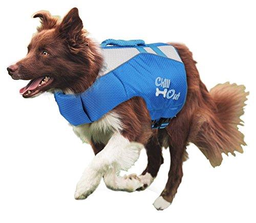 PETGARD Rettungsweste Schwimmhilfe für Hund Chill Out - Dog Life Jacket - Größe M