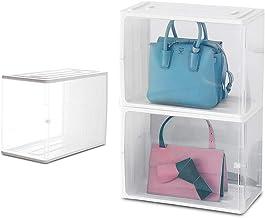 HOUZE - Stackable Luxury Bag See Thru Storage (Dim: 38x18.5x25.5cm)