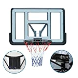 70cm Mini Canasta Interior de Aro Baloncesto para Ni/ños y Adultos de Ball y Pump Kit de Todos los Fan/áticos del Baloncesto AYNEFY Canasta Aro de Baloncesto