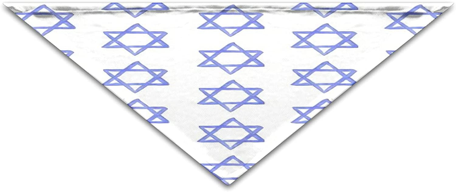 Jewish Star Cool Bandanas Fashion Gift Birthday Manufacturer direct delivery Max 57% OFF Scarves Wa Funny