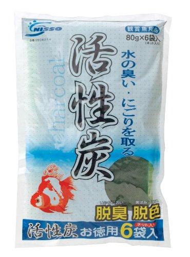 ニッソー 活性炭 お徳用 6袋入(80g) NAC-214