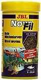 Suplemento alimenticio JBL para Peces acuáticos, Larvas Rojas, NovoFil