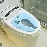 LFDHSF Badezimmerzubehör Töpfchensitz Baby Travel Klappbarer Töpfchensitz Kleinkind Tragbarer Toilettensitz Kindersitz Urinal Kissen Kinder Topf Stuhl Pad