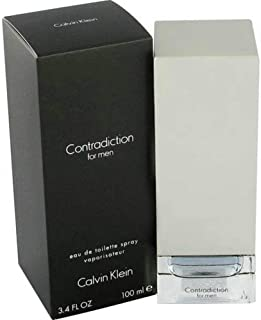 CK Contradiction Men Eau De Toilette Spray 3.4 OZ.