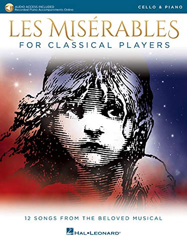 Les Miserables for Classical Players: Cello and Piano with Online Accompaniments