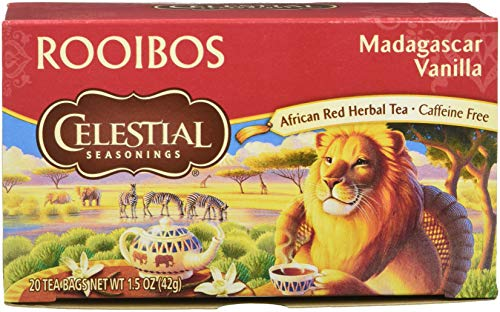 Celestial Seasonings Madagascar Vanilla Red Tea Bags - 20 ct