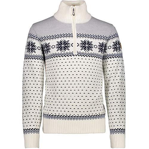 CMP Knitted WP Herren Pullover, Größen Textil:48