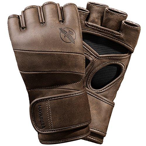 Hayabusa, Handschuhe, T3Kanpeki MMA, 113 g, braun, Large