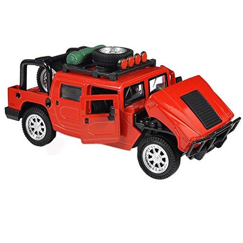 Kids Cool Mini alliage modèles de voitures hors route, Red (15 * 6 * 6.5 CM)
